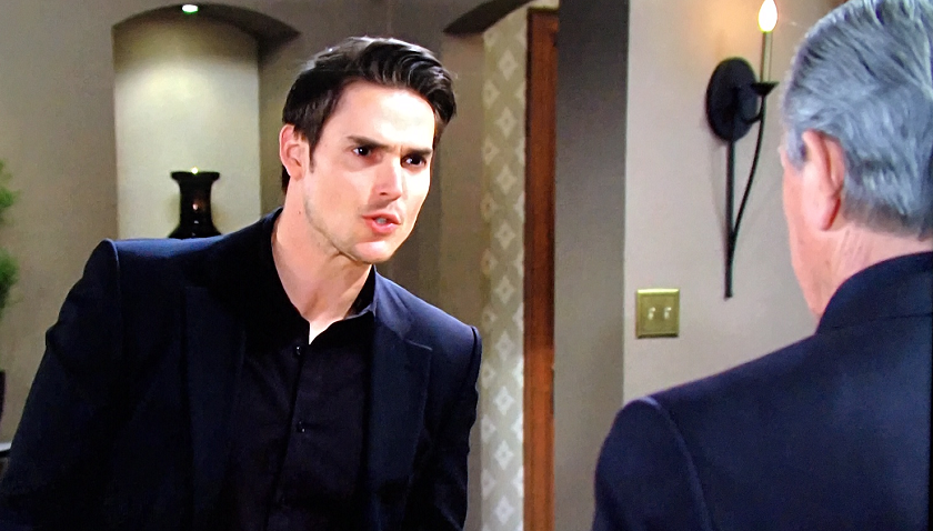 Young And The Restless Scoop: Adam Newman (Mark Grossman) Blasts Victor Newman (Eric Braeden)