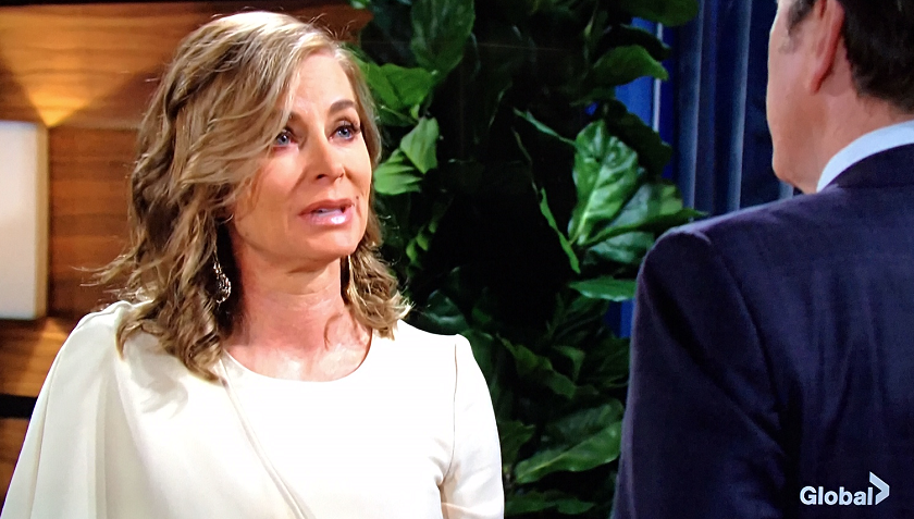Young And The Restless Scoop: Ashley Abbott And Jack Abbott Talk About Dina Mergeron
