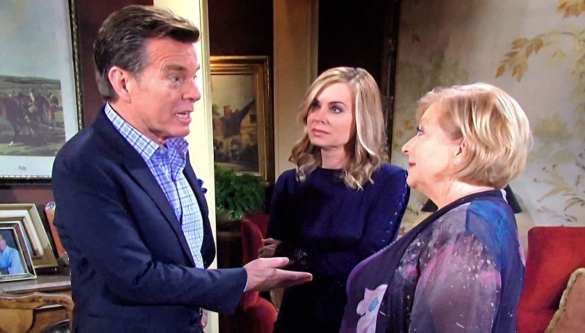 Young And The Restless Scoop: Jack Abbott - Ashley Abbott And Traci Abbott Discuss Their Mother