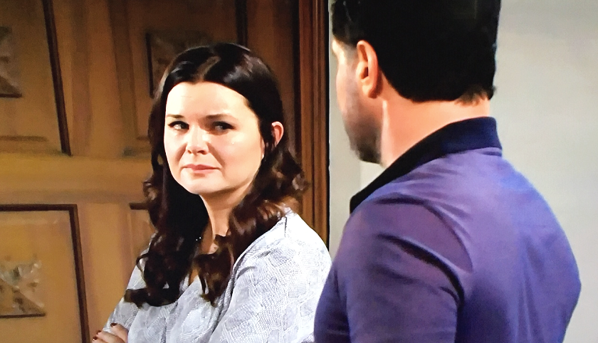 Bold And The Beautiful Scoop: Bill Spencer Begs Katie Logan For Forgiveness