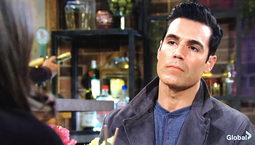 Young And The Restless Scoop: Rey Rosales Tell Lola Rosales About Sharon Newman's Cancer