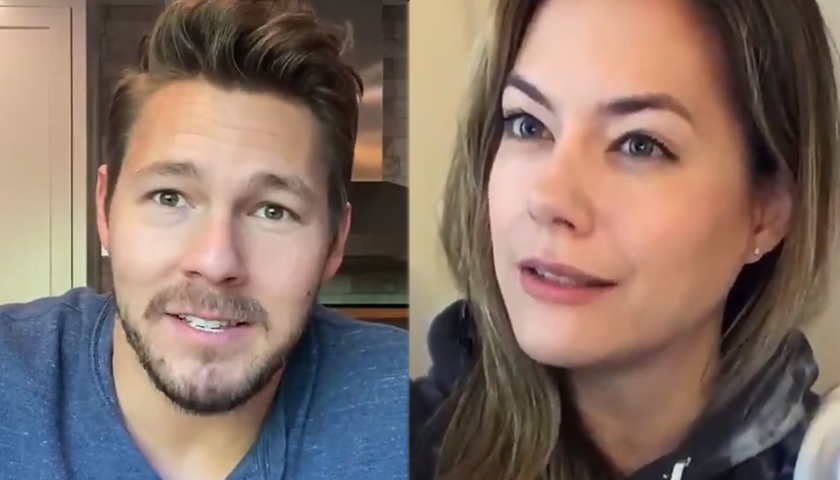 Bold And The Beautiful News: Annika Noelle And Scott Clifton Told Fans This Will Pass