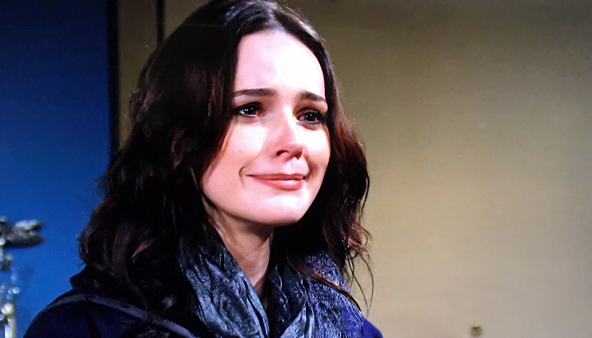 Young And The Restless Spoilers: Tessa Porter Cries.