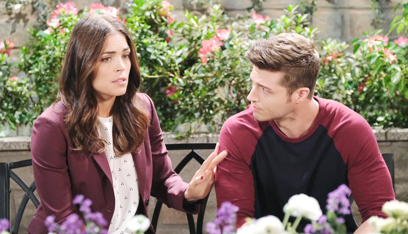 Days Of Our Lives Scoop: Evan Frears Tells Kelly Burge His Secret