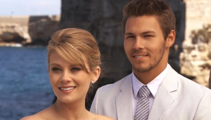 Bold And The Beautiful Scoop: Hope Logan And Liam Spencer Get Married In Puglia Italy.