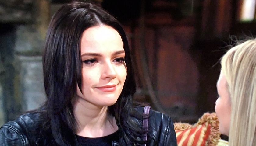 Young And The Restless Scoop: Tessa Porter Arrives At Sharon Newman's Door