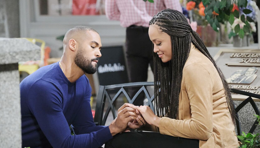 Days Of Our Lives Scoop: Eli Grant Proposes To Lani Price