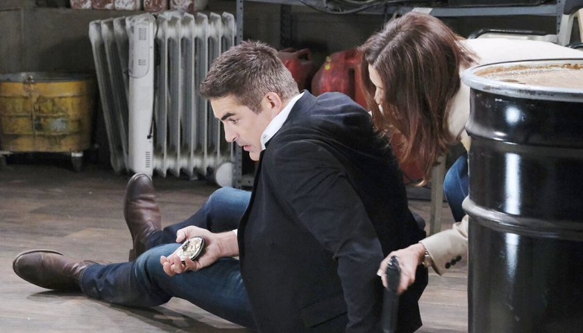 Days Of Our Lives Scoop: Hope Brady Tries To Help Rafe Hernandez After He Is Shot