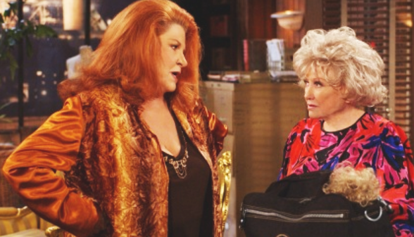 Bold And The Beautiful Scoop: Gladys With Sally Spectra