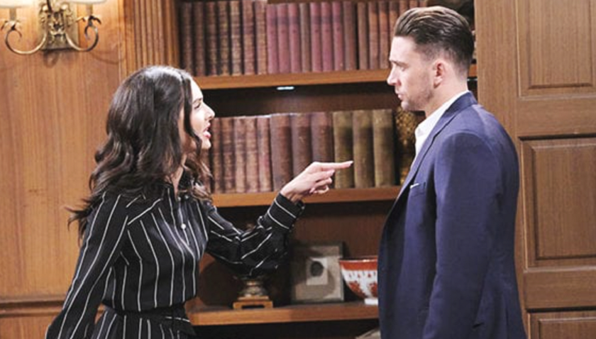 Days Of Our Lives Scoop: Gabi Hernandez Argues With Chad DiMera