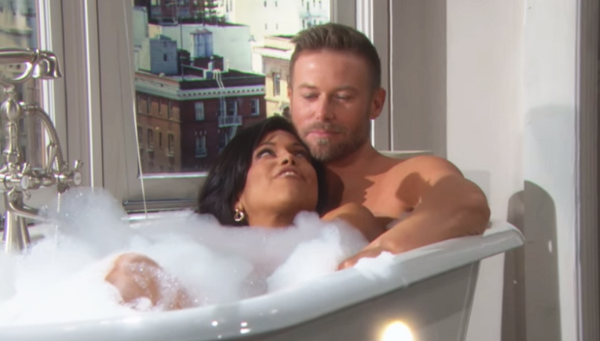 Bold And The Beautiful Rumor: Rick Forrester And Maya Avant Take a Bath