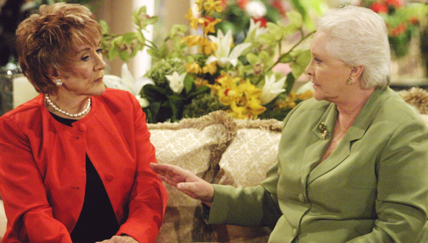 Bold And The Beautiful Scoop: Katherine Chancellor Stuns Stephanie Forrester