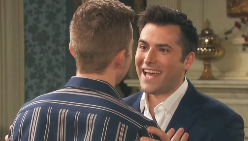 Days Of Our Lives Daily Scoop Wednesday June 24 Will And Sonny Share Their Plans With Lucas Eli Hinders Victor And Brady S Plot The Soap Scoop