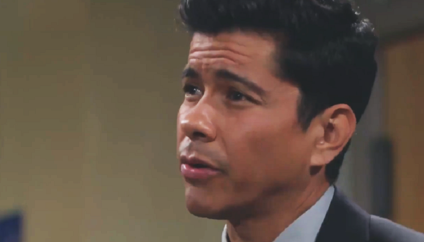 Bold And The Beautiful Scoop: Detective Sanchez Questions Bill Spencer