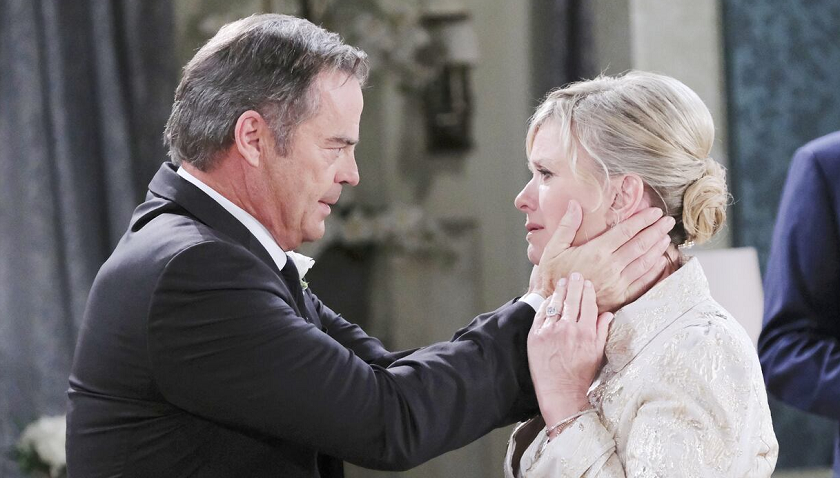 Days Of Our Lives Scoop: Justin Kiriakis Has A Confession For Kayla Brady On Their Wedding Day
