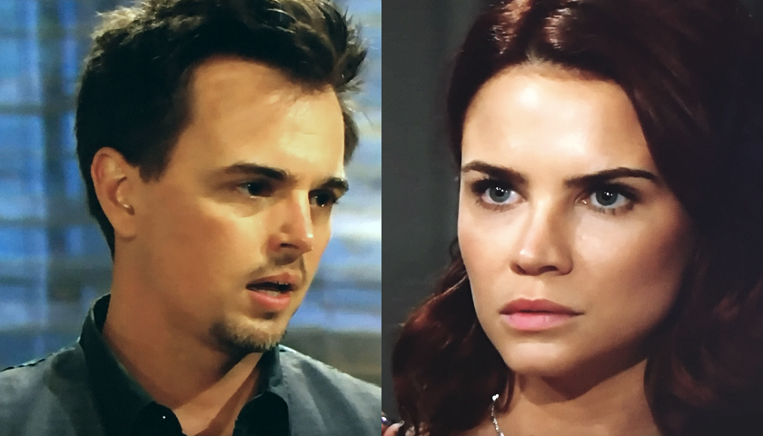 Bold And The Beautiful Scoop: Wyatt Spencer Rakes Sally Spectra Over The Coals