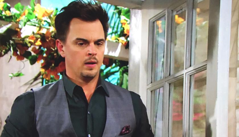 Bold And The Beautiful Scoop: Wyatt Spencer Is Shocked When He Opens His Front Door