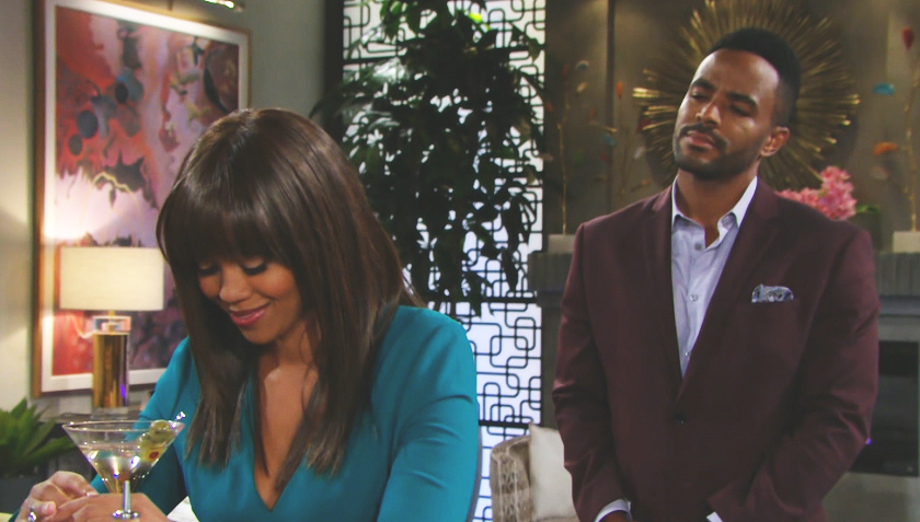 Young And The Restless Scoop: Amanda SInclair and Nate Hastings