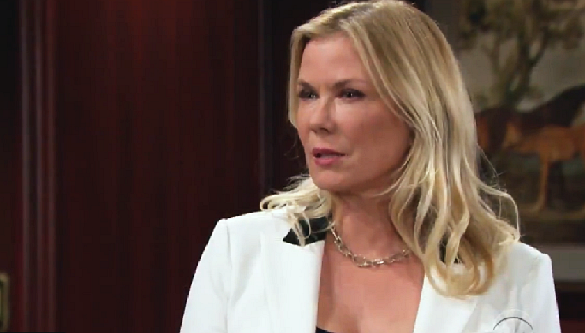 Bold And The Beautiful Scoop: Brooke Forrester Argues With Quinn Forrester And Shauna Fulton