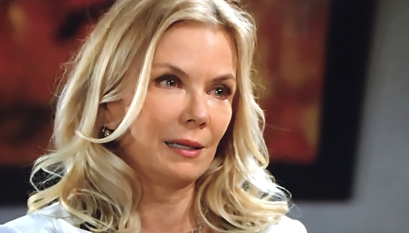Bold And The Beautiful Scoop: Brooke Forrester Walks In On Ridge Forrester