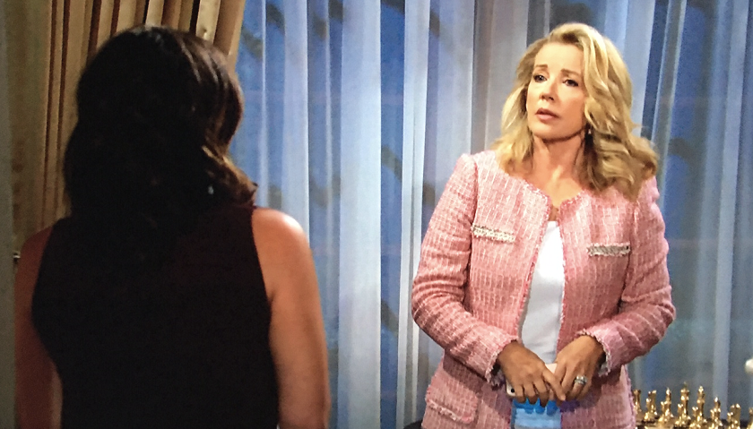 Young And The Restless Scoop: Nikki Newman Warns Chelsea Newman