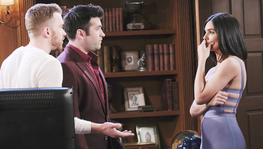 Days Of Our Lives Scoop: Will Horton And Sonny Kiriakis Tell Gabi Hernandez They're Leaving Salem