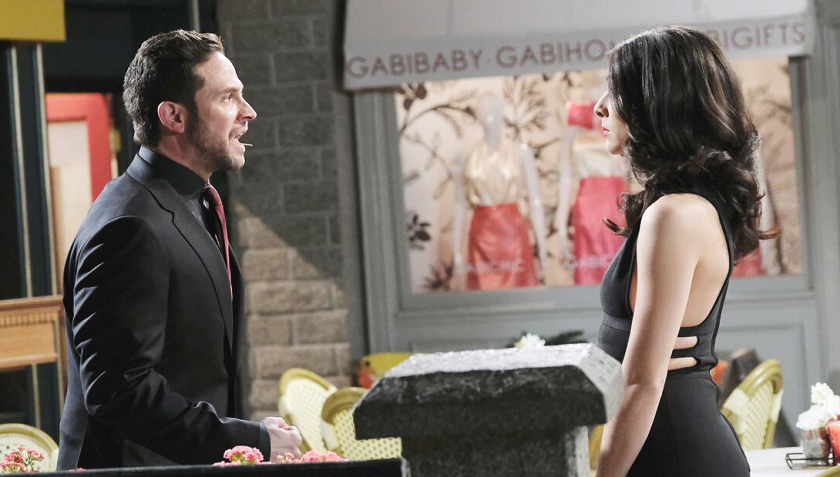 Days Of Our Lives Scoop: Jake Lambert And Gabi Hernandez Argue