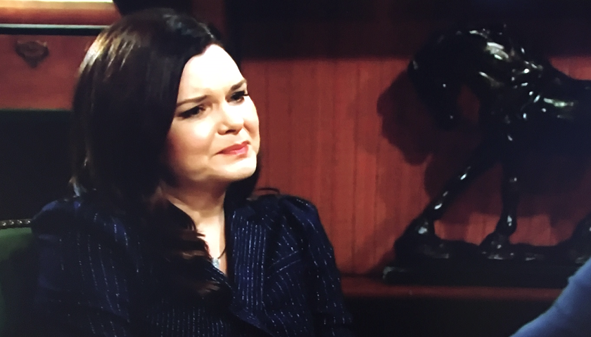 Bold And The Beautiful Scoop: Katie Logan Overhears Quinn Forrester And Bill Spencer