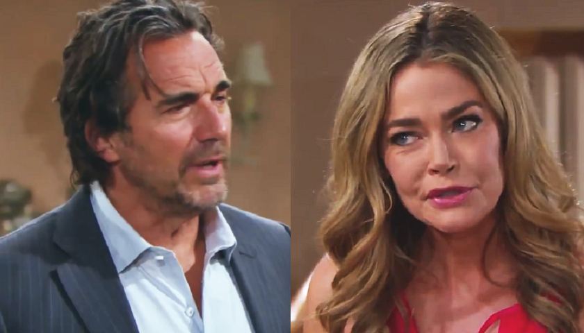 Bold And The Beautiful Scoop: Shauna Fulton Tells Ridge Forrester They're Married