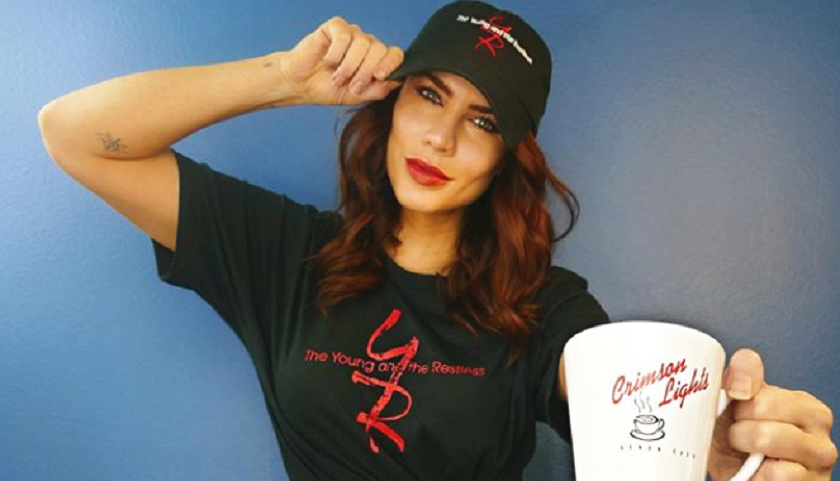 Young And The Restless News: Courtney Hope Wearing Her Y&R Gear