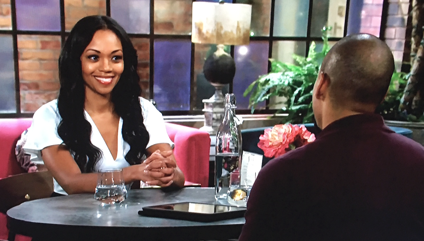 Young And The Restless Scoop: Amanda Sinclair Tells Devon Hamilton Her Birth Date