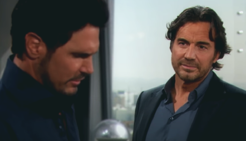 Bold And The Beautiful Scoop: Bill Spencer And Ridge Forrester In Heated Argument