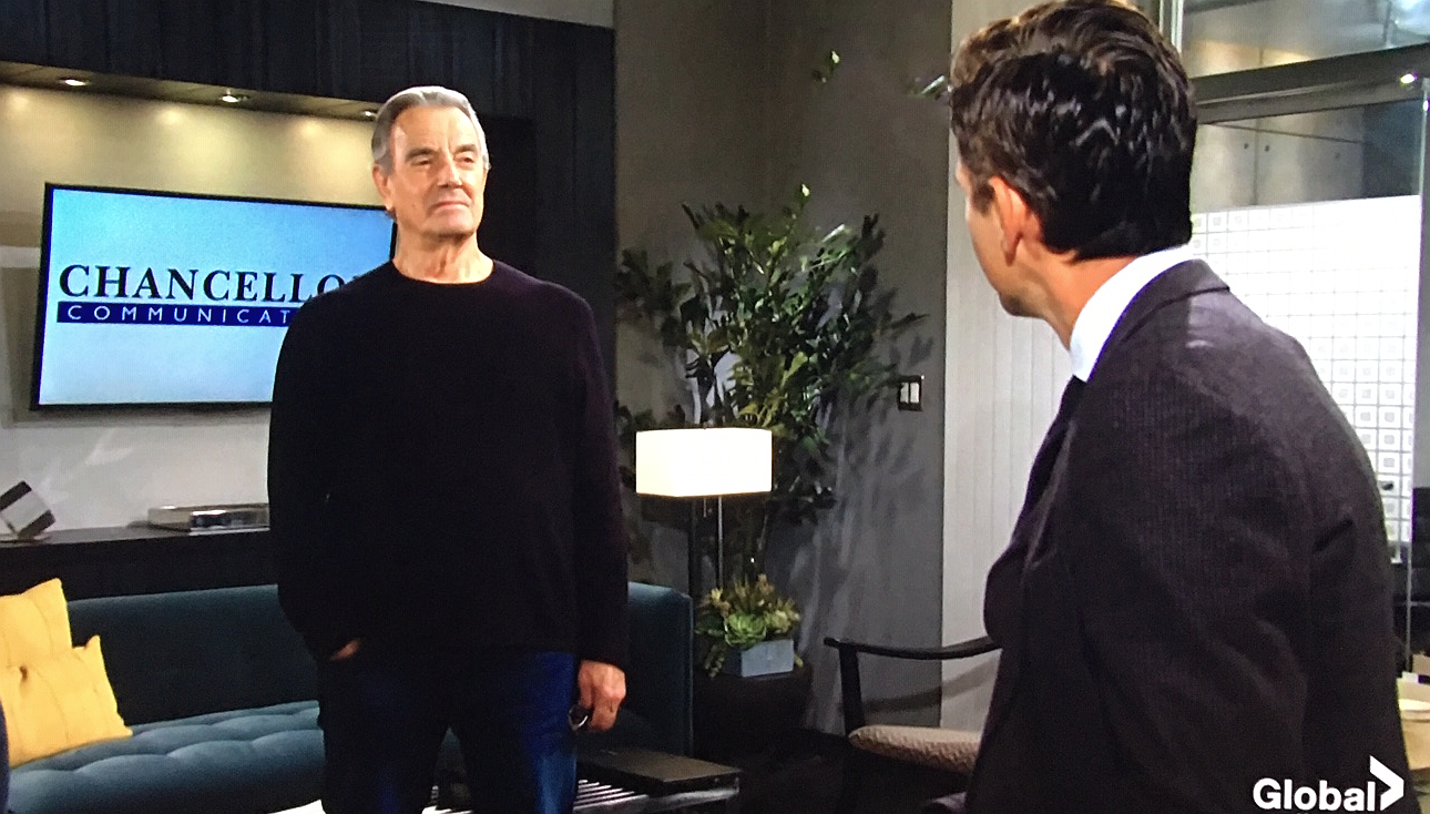 Young And The Restless Scoop: Victor Newman Confronts Billy Abbott