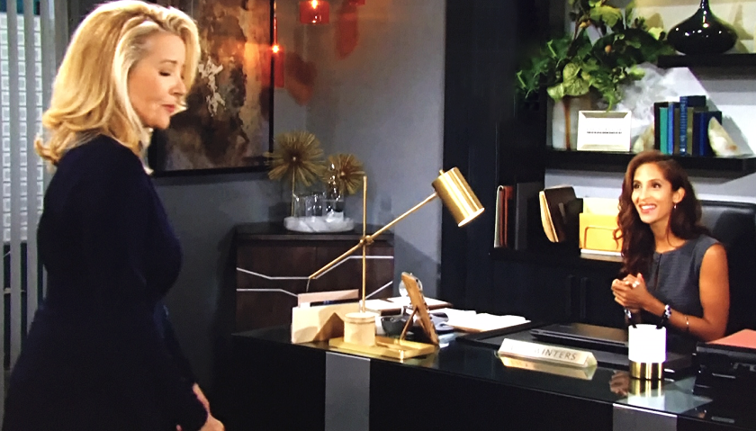 Young And The Restless Scoop: Nikki Newman Tries To Intimidate Lily Winters
