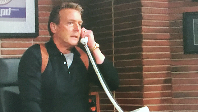 Young And The Restless News: Police Chief Paul Williams Will Be Back At His Desk