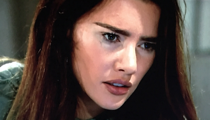 Bold And The Beautiful Scoop: Steffy Forrester Is Alone And In Pain