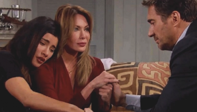 Bold And The Beautiful Poll: Steffy Forrester, Taylor Hayes And Ridge Forrester Bond