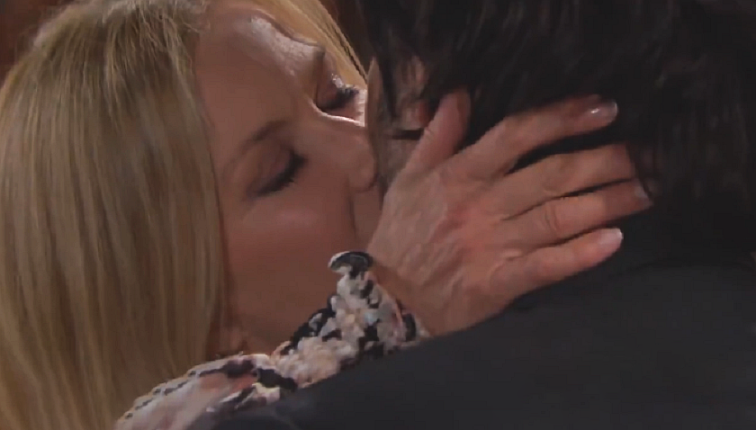 Bold And The Beautiful Scoop: Brooke Forrester Kisses Ridge Forrester