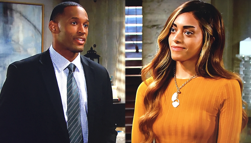 Bold And The Beautiful Scoop: Carter Walton Asks Zoe Buckingham To Move In With Him