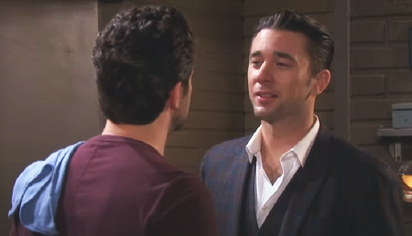Days Of Our Lives Scoop: Jake Lambert And Chad DiMera Argue