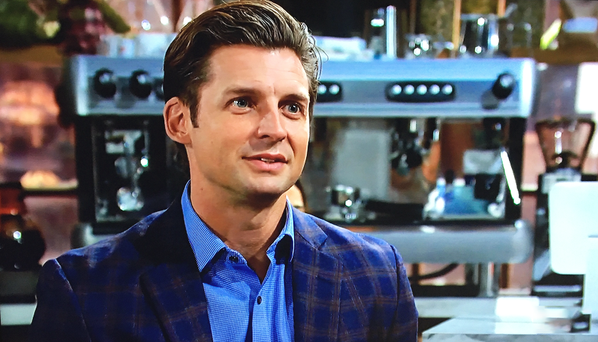 Young And The Restless Scoop: Chance Chancellor Talks To Rey Rosales