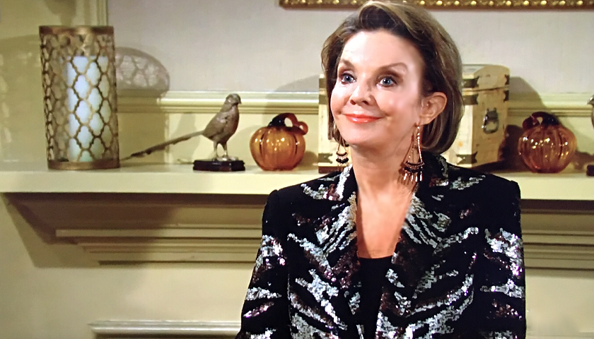Young And The Restless Scoop: Gloria Bardwell Talks To Her Sons
