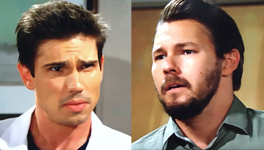 Bold And The Beautiful Scoop: Liam Spencer Makes His Dislike Of Finn Obvious