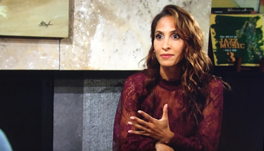 Young And The Restless Scoop: Lily Winters Talks To Devon Hamilton
