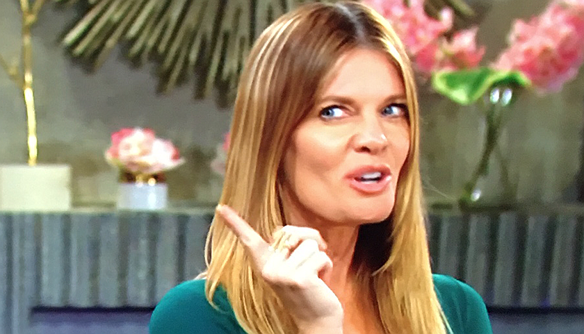 Young And The Restless Scoop: Phyllis Summers Blames Kyle Abbott