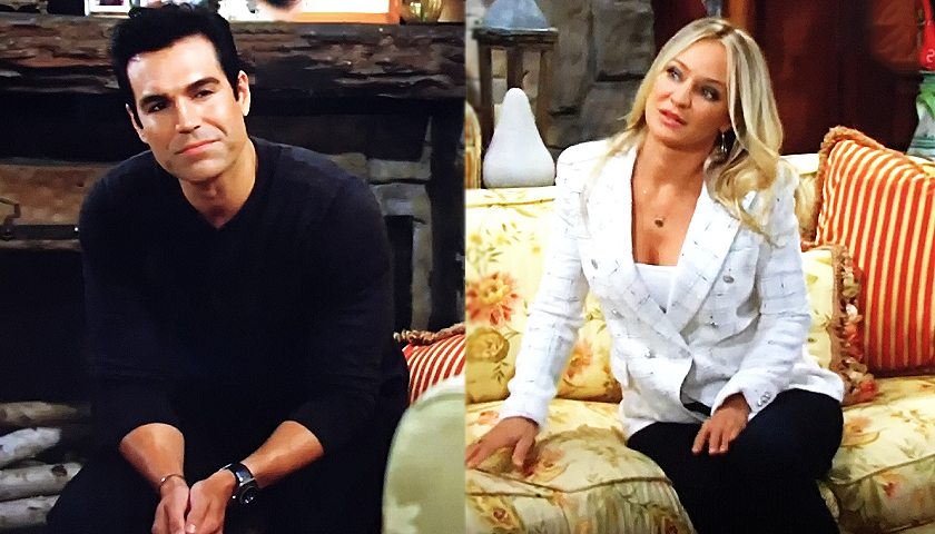 Young And The Restless Scoop: Rey Rosales And Sharon Newman Discuss Adam Newman