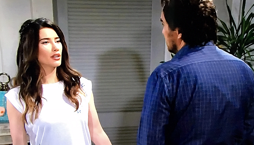Bold And The Beautiful Scoop: Steffy And Ridge Forrester Do Some Bonding