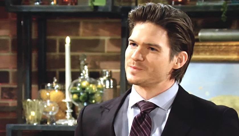 Young And The Restless Scoop: Theo Vanderway Crashes Dina Mergeron's Memorial Reception