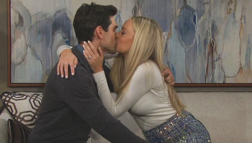 Young And The Restless Scoop: Abby Newman And Chance Chancellor Kiss