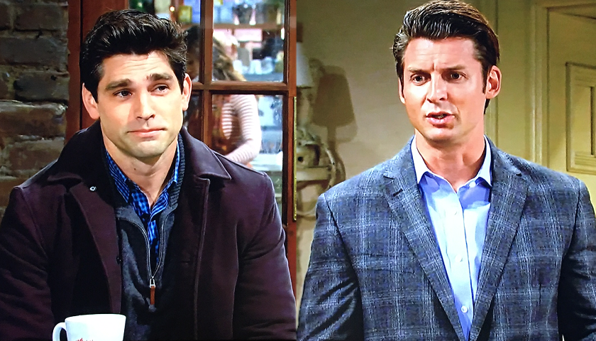 Young And The Restless Poll: Justin Gaston And Donny Boaz As Chance Chancellor